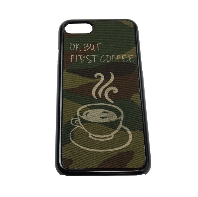iPhone7 ケース OK BUT,FIRST COFFEE
